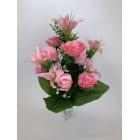 Bukiet Róża - Lilia M2 z dodatkami kolor 4