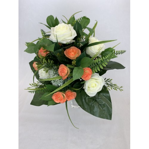 AFL0342 Bukiet róża z małymi różyczkami KOLOR 3