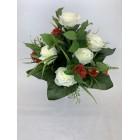 AFL0342 Bukiet róża z małymi różyczkami KOLOR 6