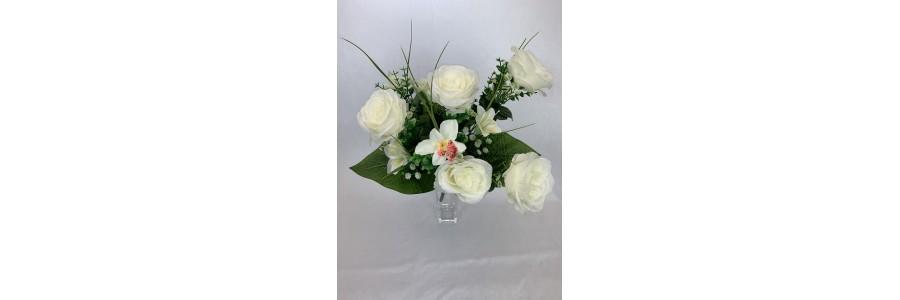 Róża - Storczyk - Lilia