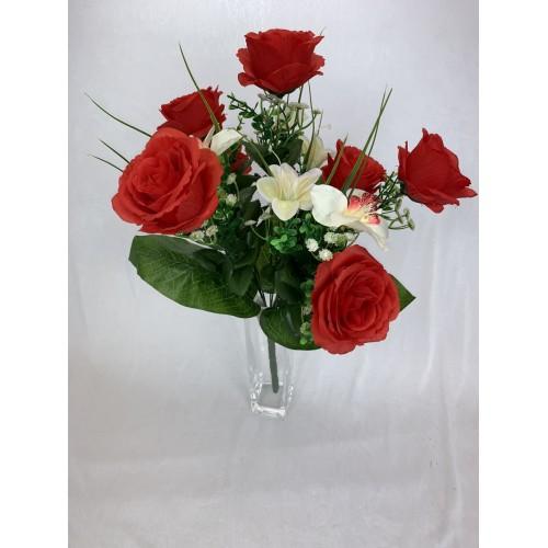 Róża - Storczyk - Lilia kolor 6