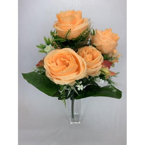 AFL0576 Bukiet 7 Róż i Storczyk kolor 3