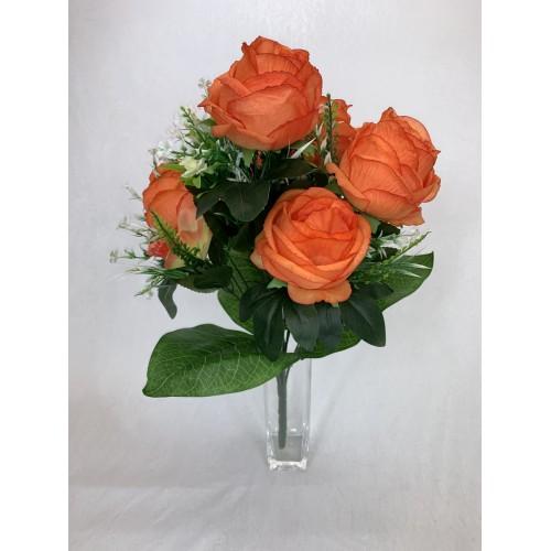 AFL0576 Bukiet 7 Róż i Storczyk kolor 5