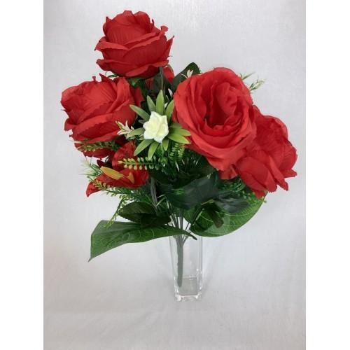 AFL0576 Bukiet 7 Róż i Storczyk kolor 6